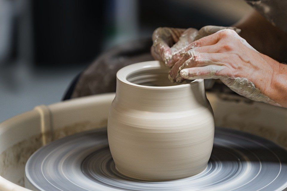 Pottery - The First Century B.C., and How Pottery Was Formed